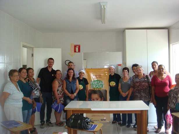 Culinária vegana é destaque em ação educativa do Programa Mesa Brasil Santa Maria, no RS