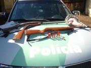 Polícia detém homem por caçar capivara e aves silvestres em Itaí, SP