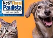 Nota Fiscal Paulista também pode beneficiar ONGS de Proteção Animal