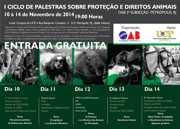 Petrópolis, RJ, sedia ciclo de palestras sobre direitos dos animais