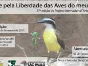 'Arte pela Liberdade das Aves do meu País' é tema de exposição em SP