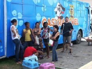 'Castramóvel' atende no bairro do Bonfim até dia 28 de maio em Salvador, BA