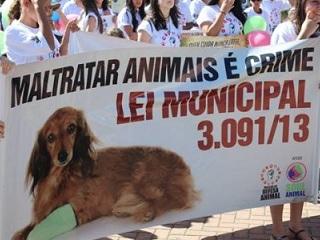 ONG de Extrema (MG) faz Marcha da Defesa Animal