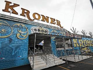 Circo sem animais promete transformar luz e som em atrações em Bauru, SP