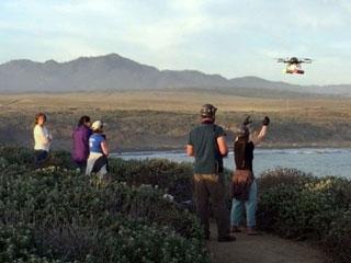 EUA cientistas drone h