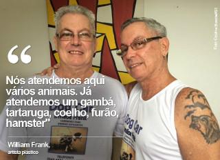 Gêmeos produzem cadeiras de rodas para animais deficientes no Rio