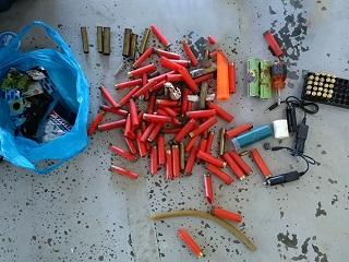 Material de caça de animais é apreendido em APA de Macaé, RJ