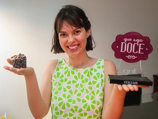 Moradora de Bauru (SP) vence concurso da GNT com doces veganos