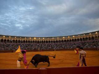Espanha teatro sangue touradas H