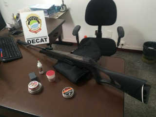 MS CampoGrande arma gata rapaz atirador H
