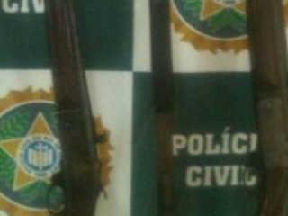 RJ policia armas zoologico H