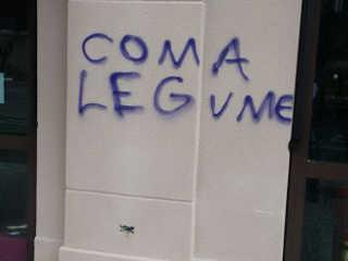 Pichação em fachada de churrascaria em São José dos Campos (SP) gera polêmica na web
