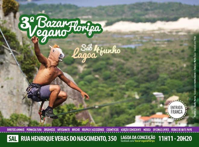 3º Bazar Vegano Floripa chega com força para este sábado