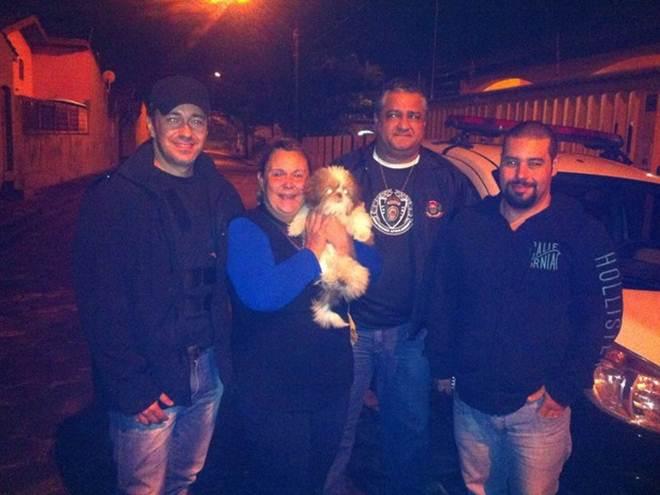 Polícia resgata cachorra que havia sido sequestrada em SP: 'Final feliz'