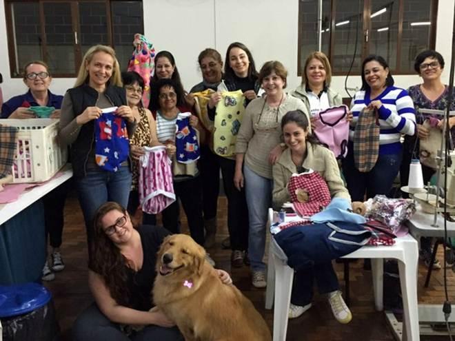 Voluntárias promovem 'campanha do agasalho' para animais de rua em Bebedouro, SP