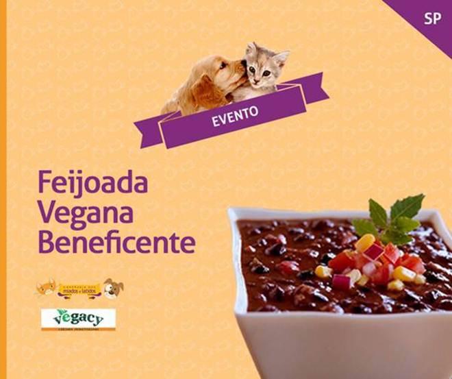 ONG de proteção animal organiza 5ª edição da Feijoada Vegana Beneficente em SP