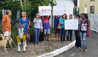 Ato em Salvador protesta contra abate de jegues no interior da Bahia