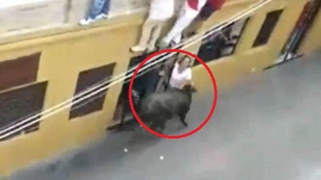 Touro hostilizado chifra e mata mulher na Espanha; vídeo