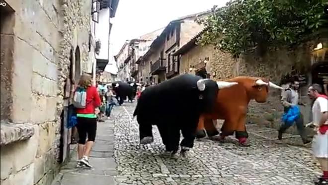 Uma corrida de touros 'amiga' dos animais