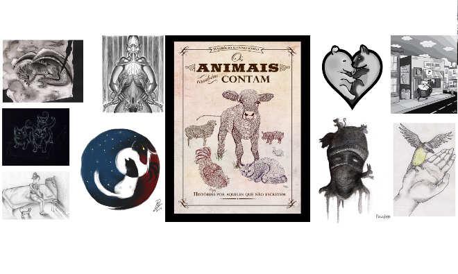 Livro literário coletivo em defesa animal é lançado neste sábado, 30