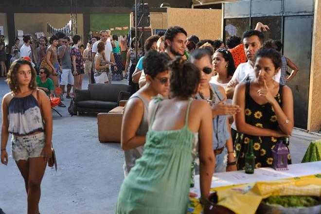Evento reúne música e comida vegana em Cosme Velho, no Rio