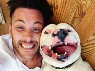 Como uma selfie com o tutor quase fez um cão abandonado perder seu novo lar