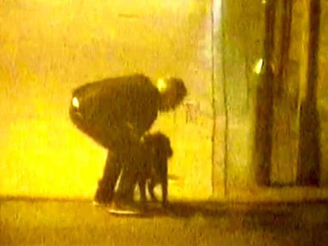 Homem é flagrado maltratando seu cachorro na Inglaterra; vídeo