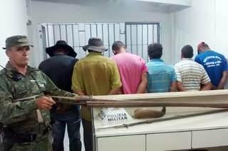 Quadrilha acusada de caça de animais silvestres é presa pela Polícia Ambiental em Uberaba, MG