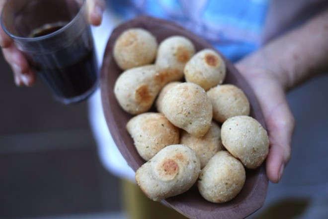 Pãozinho de macaxeira (mandioca)