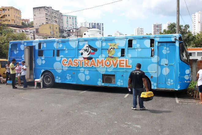 Castramóvel atende no Estacionamento São Raimundo até fim do mês, em Salvador, BA