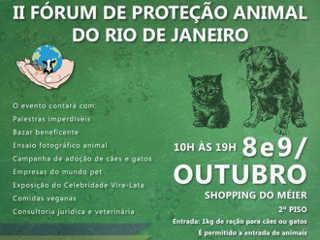 Rio de Janeiro realizará grande evento pelos animais