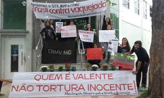 Defensores de animais convocam protesto contra rodeio e vaquejada em BH