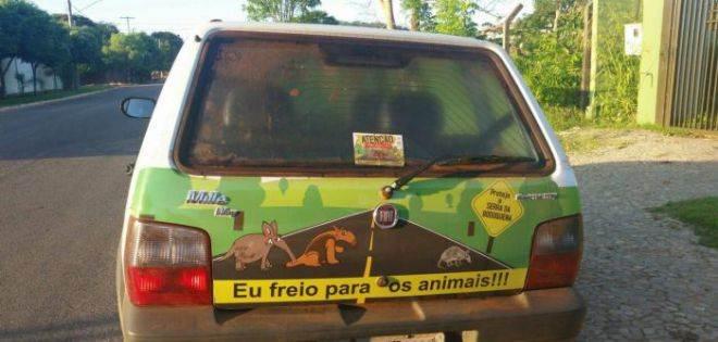 IASB lança campanha móvel contra atropelamento de animais silvestres em Mato Grosso do Sul