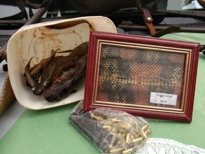Homem é detido suspeito de caçar animais silvestres em Botucatu, SP