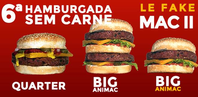 Evento em SP traz clássicos do junkfood na versão vegana