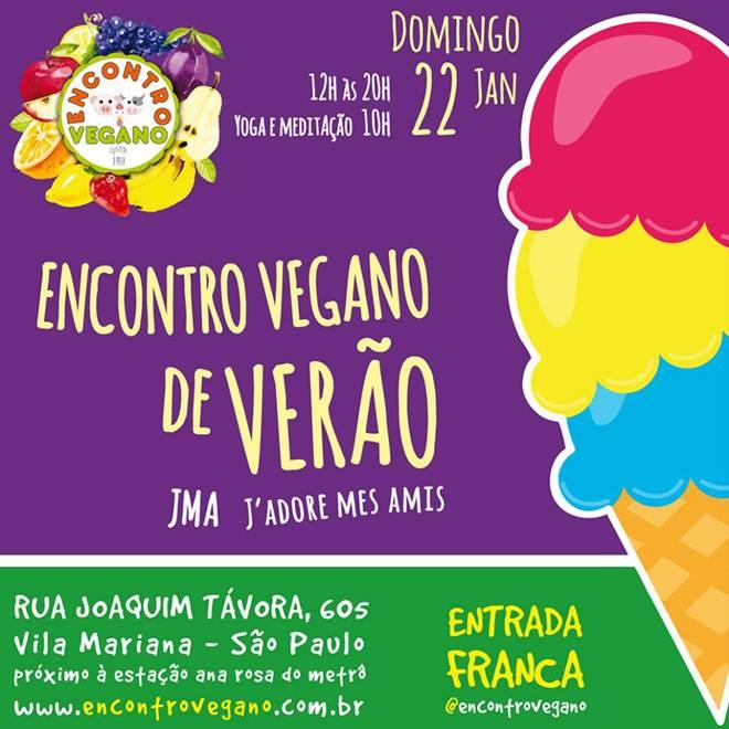 Sorvetes e culinária do mundo são destaques do Encontro Vegano de Verão em SP