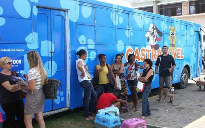 Salvador: Castramóvel chega ao bairro de Plataforma na segunda-feira