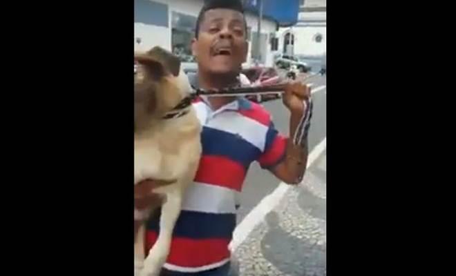 Em vídeo, homem denuncia maus-tratos contra animais em Nova Lima, MG