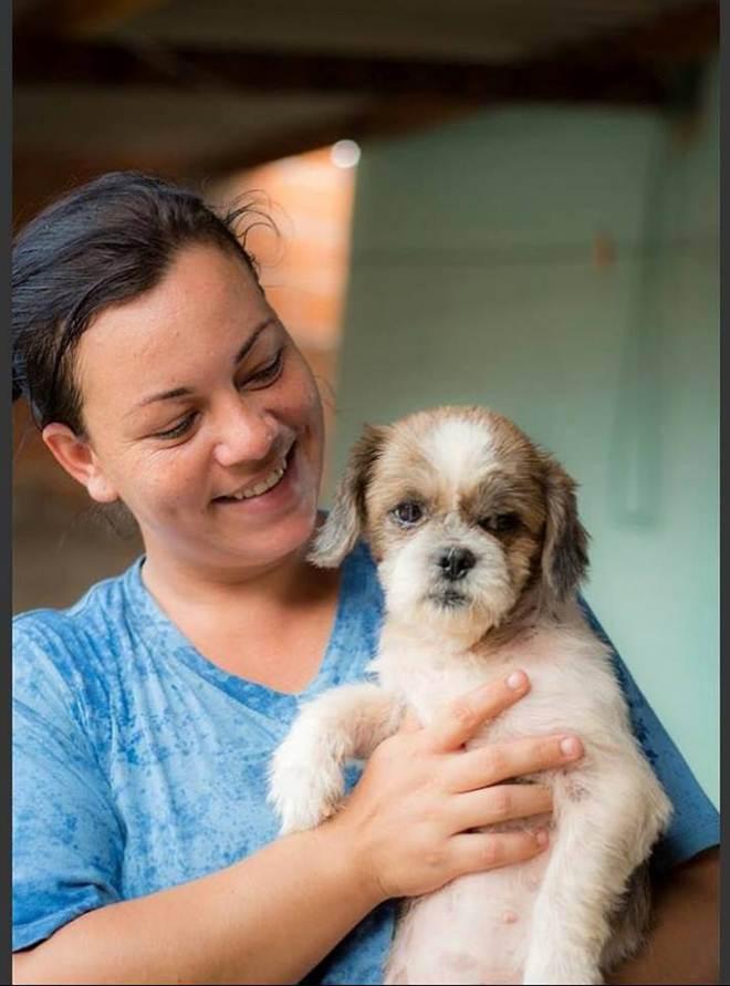 Moradora de Cuiabá (MT) precisa de ajuda para ajudar salvar 28 cães; com gasto mensal de mais de R$ 5 mil, ela pede socorro