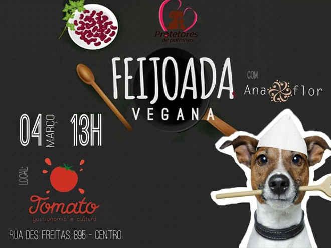 ONG para animais em Teresina (PI) faz feijoada vegana para sanar dívidas