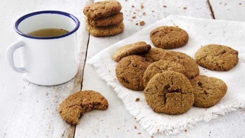 Biscoito de chocolate com jatobá