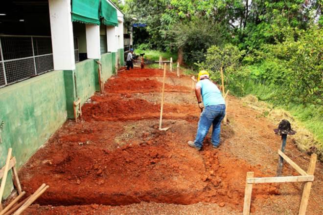 Prefeitura de Santa Bárbara (SP) inicia reforma do canil do CCZ