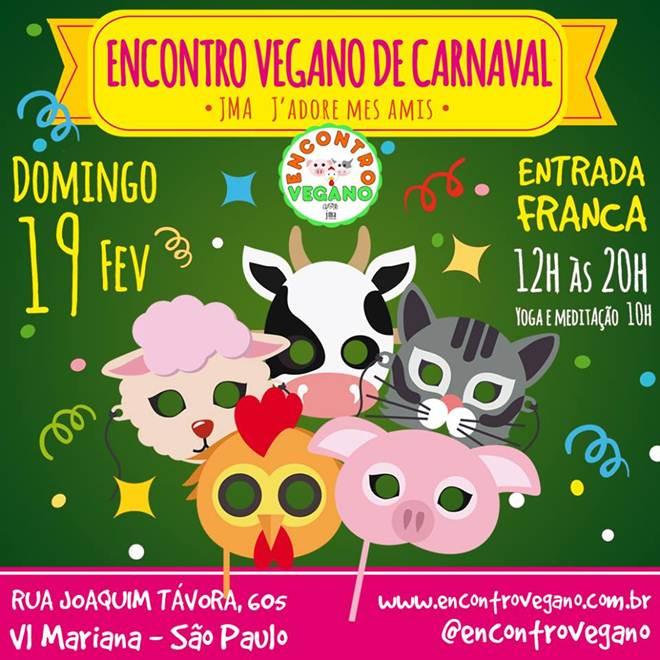 Encontro Vegano entra no clima de Carnaval em São Paulo