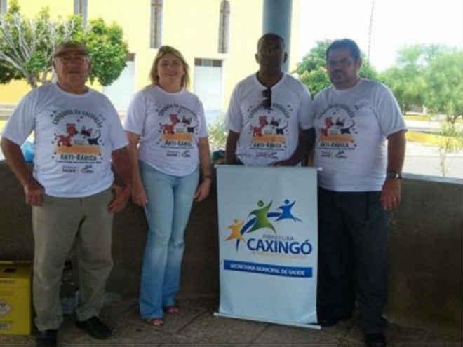 Prefeitura municipal de Caxingó (PI) realiza campanha antirrábica no município