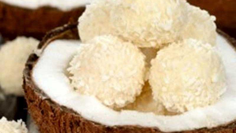 Docinhos de soja e coco