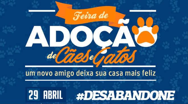 CCZ faz evento de adoção de cães e gatos no dia 29 de abril em Eunápolis, BA