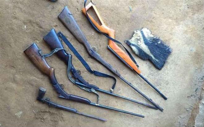 Suspeito de caçar animais silvestres é preso com cinco armas de fogo em Domingos Martins, ES