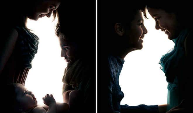 Dupla promove a adoção de animais por meio de ilusões de ótica com sombras
