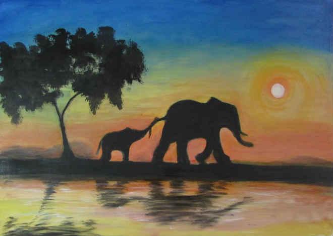 Exposição em MG: a arte em defesa dos elefantes