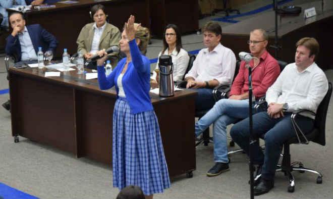 Falta de cuidados com os cavalos usados em charretes foi tema de audiência pública em Venâncio Aires, RS